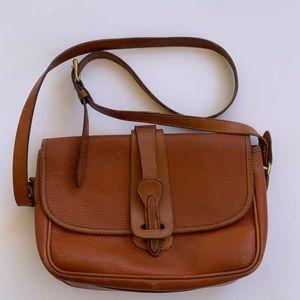 Vintage Dooney & Bourke Essex Crossbody Saddle Bag